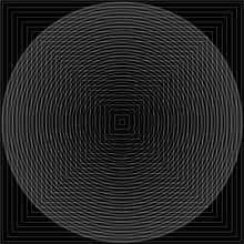 Load image into Gallery viewer, Minimal Op Art #1