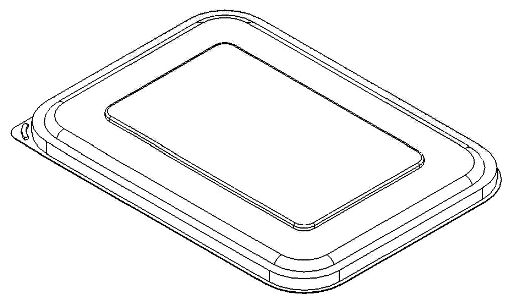 dimensions of plant based 16 and 32 oz lid for multipurpose package for canadian bioplastic company