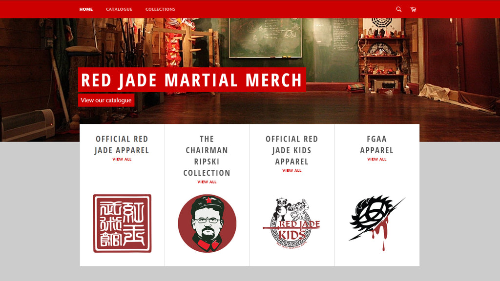 Red Jade Merch is Live!