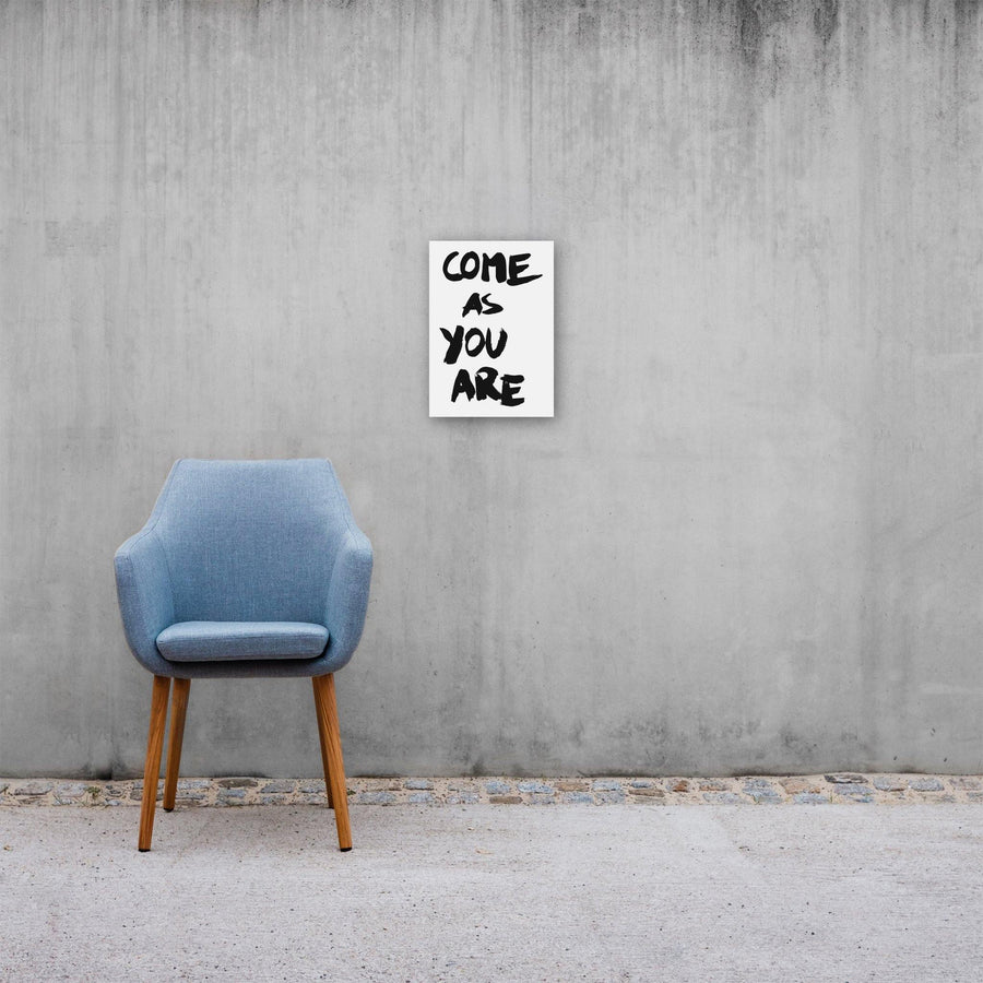 Come As You Are, Poster, White