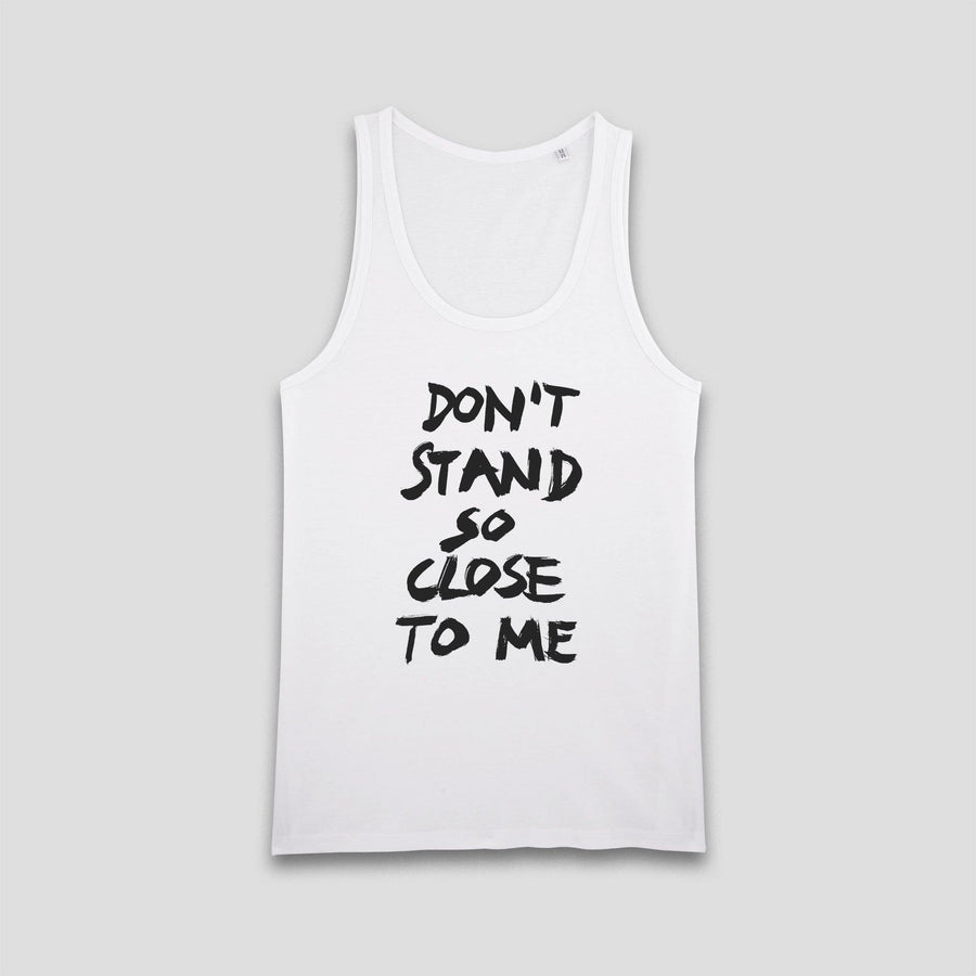 Don't Stand So Close To Me, Men's Tank Top - Pop Music Wisdom