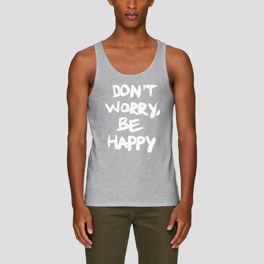 Don't Worry, Be Happy, Men's Tank Top