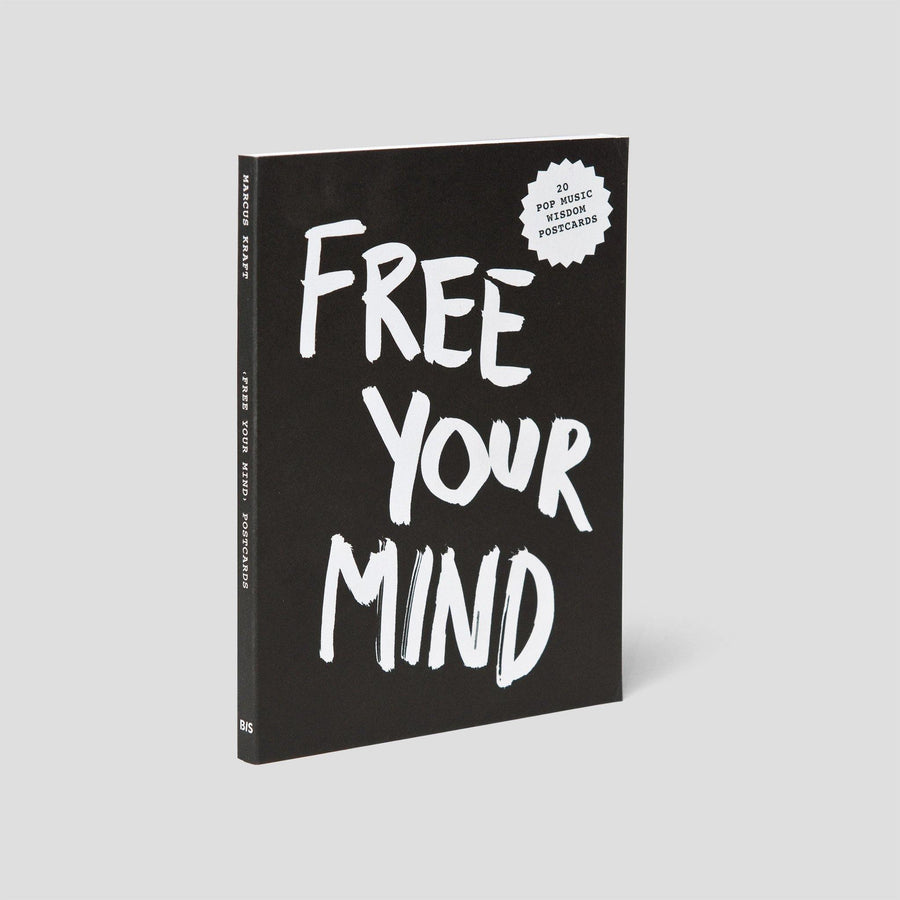 Free Your Mind, Postcard Block - Pop Music Wisdom