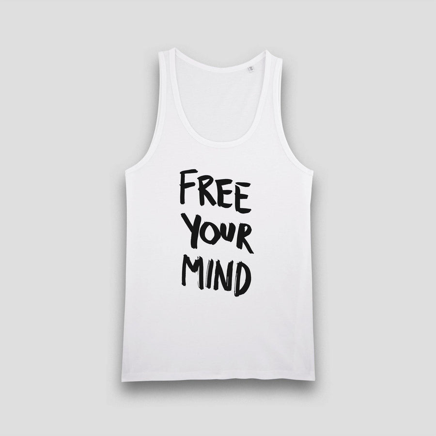 Free Your Mind, Men's Tank Top - Pop Music Wisdom