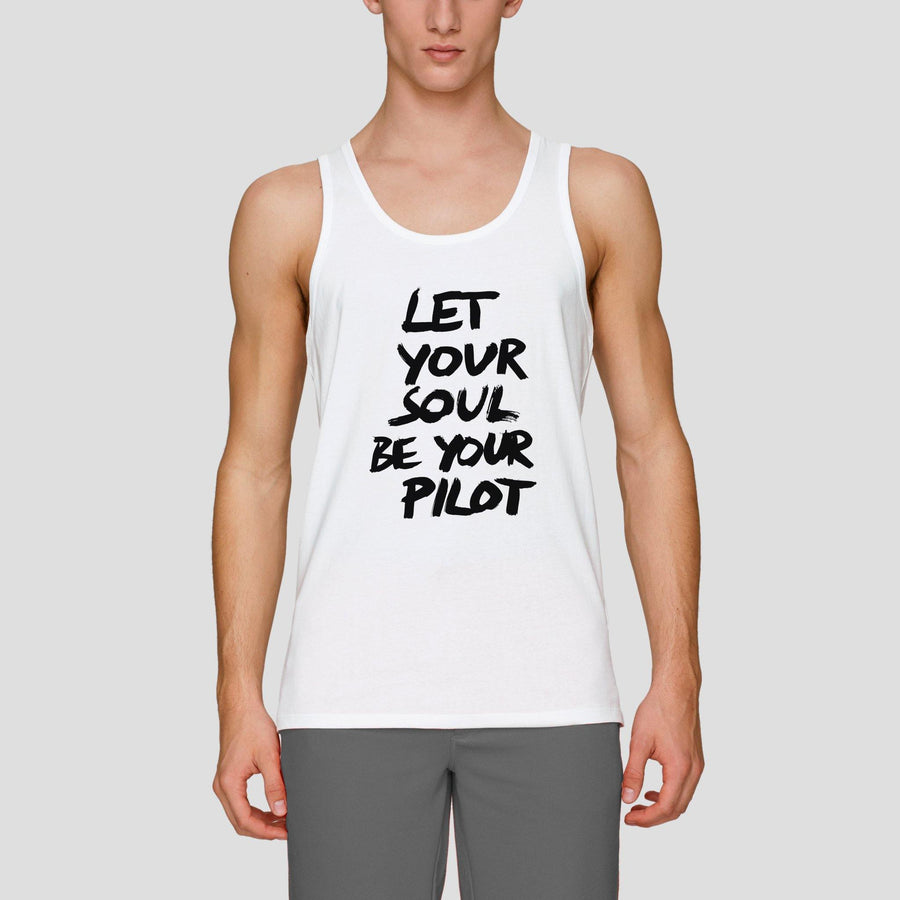 Let Your Soul Be Your Pilot, Men's Tank Top