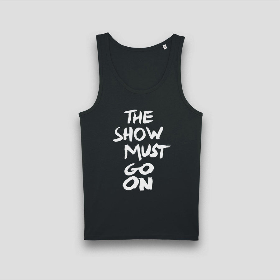 The Show Must Go On, Men's Tank Top