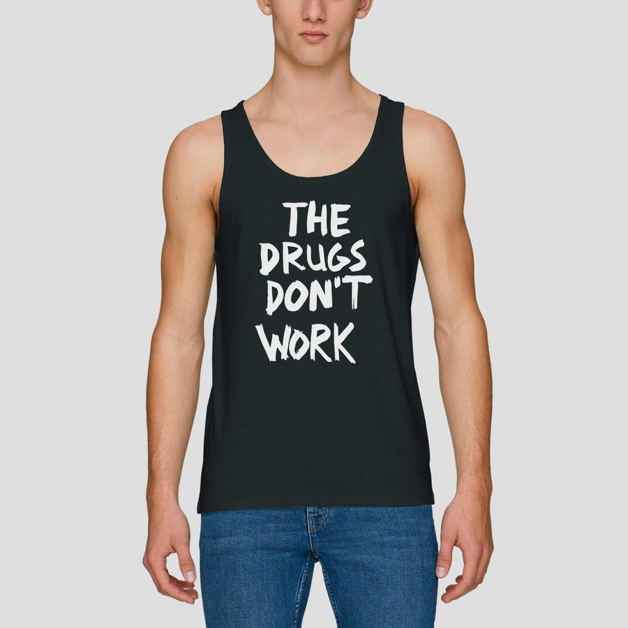 The Drugs Don't Work, Men's Tank Top - Pop Music Wisdom