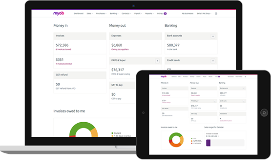 MYOB Essentials Accounting with One Payroll (12 Months)