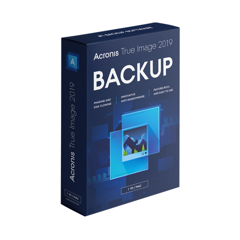 Acronis True Image 2019 Advanced Backup