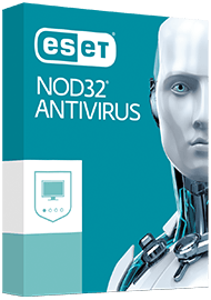 ESET NOD32 Antivirus Box