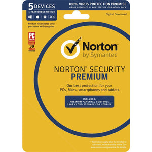 Norton Security Premium (5 Device)