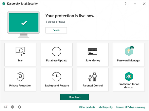 Kaspersky Total Security (3 Devices)