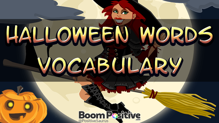 "Halloween words vocabulary ""without blood, guts & nastiness"""