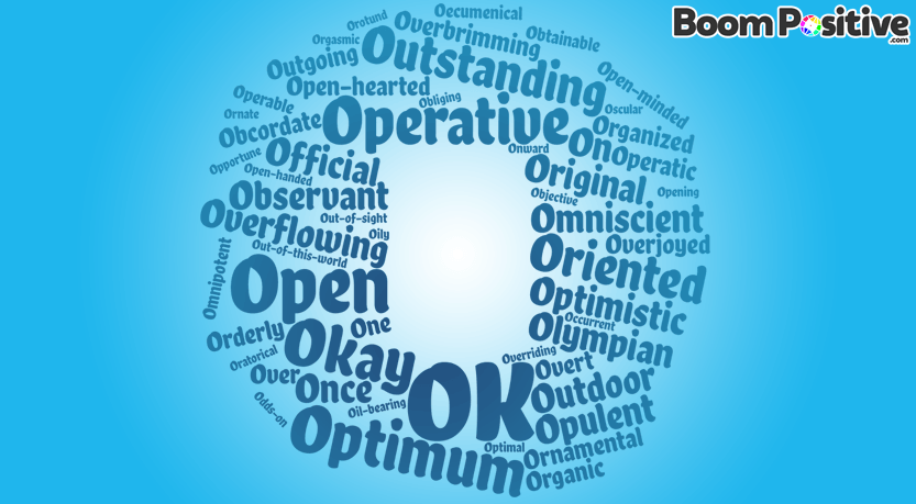 "Positive adjectives that start with O ""optimistic words"""