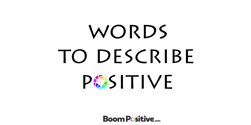Synonyms for positive and optimistic