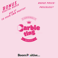 barbie ting badge
