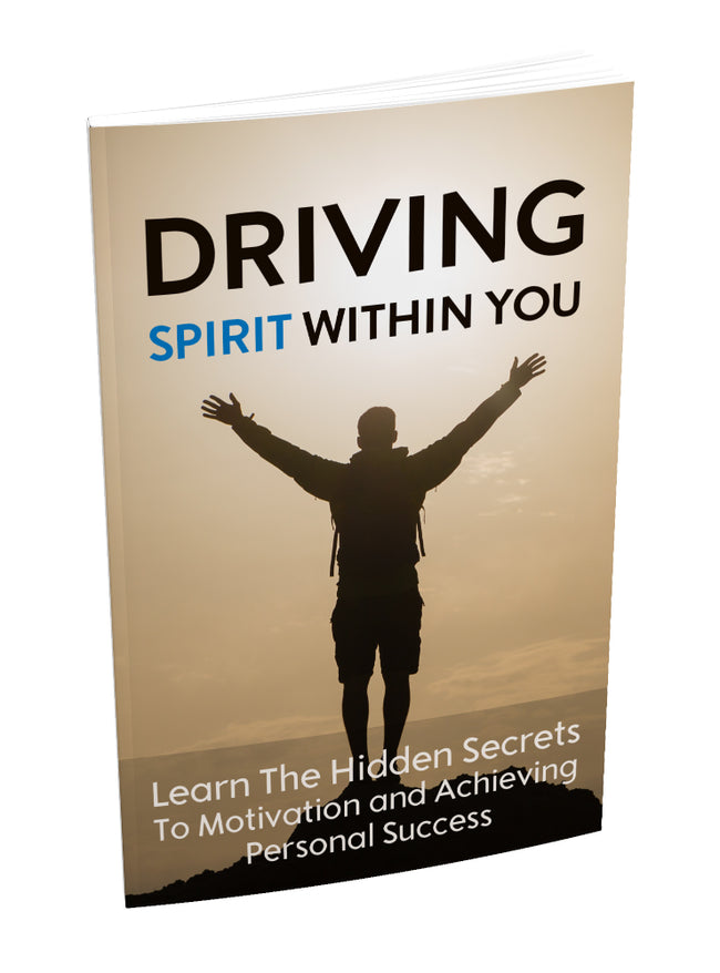 driving spirit within you by juha salmela