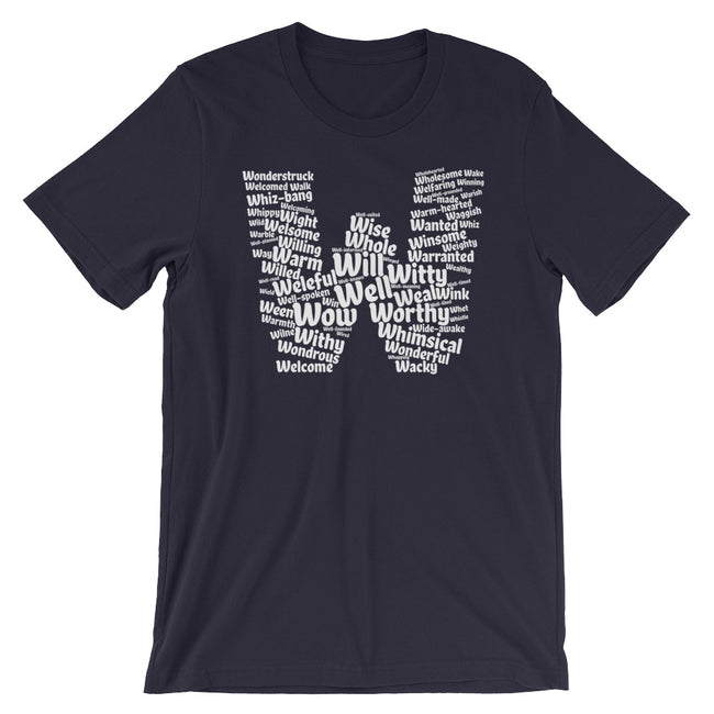 Positive W words t-shirt | unisex