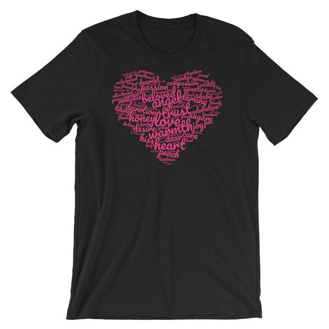 Lovely words t-shirt