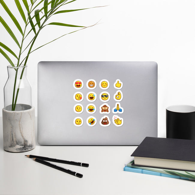 bubble free emoji stickers