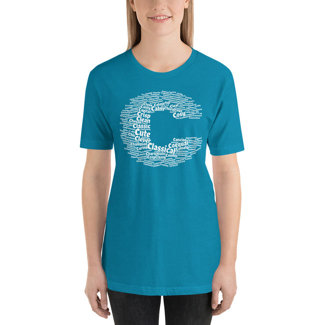 Positive C words t-shirt | unisex