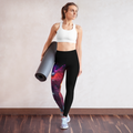 Galaxy Yoga Leggings with Pocket