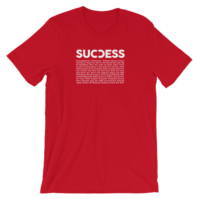 success word cloud t-shirt