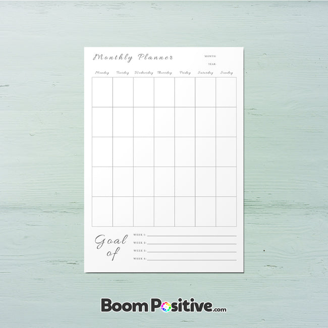 printable to do list monthly planner