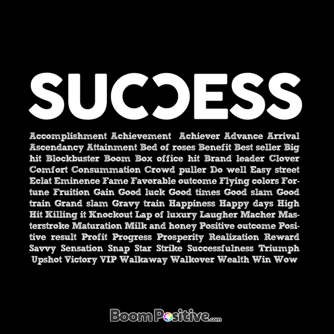 success word cloud t-shirt illustration