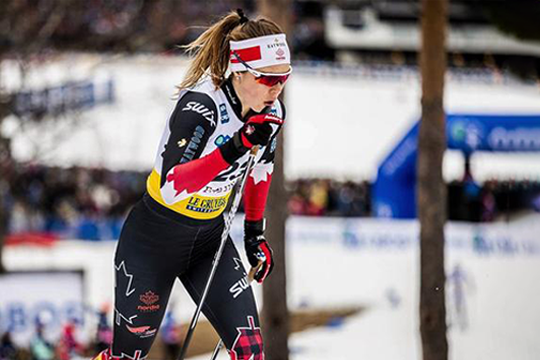 Maya MacIsaac-Jones Canadian Cross-Country Skier