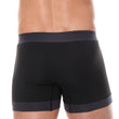 Load image into Gallery viewer, Men's Boxer Short 3D PRO Black Back