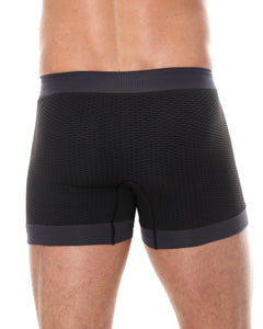 Men's Boxer Short 3D PRO Black Back