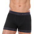 Load image into Gallery viewer, Men's Boxer Short 3D PRO Black Front
