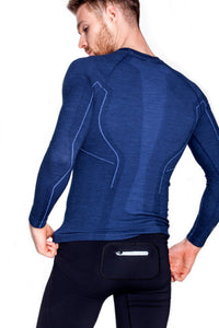 Men's Top ACTIVE WOOL Long Sleeve