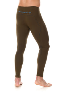 Men's Bottoms Thermo Long Pants Khaki Back