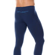 Load image into Gallery viewer, Men's Bottoms Thermo Long Pants Navy Blue Back