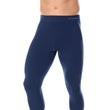 Load image into Gallery viewer, Men's Bottoms Thermo Long Pants Navy Blue Front