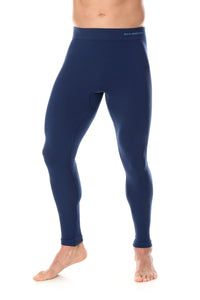 Men's Bottoms Thermo Long Pants Navy Blue Front