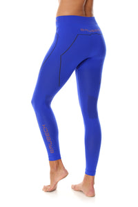 Women's Bottom THERMO Long Pants Cobalt Blue Back