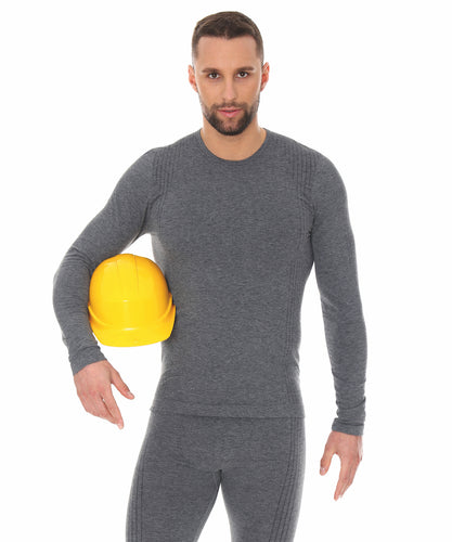 Men's Long Sleeve Top Fire-Resistant and Antistatic