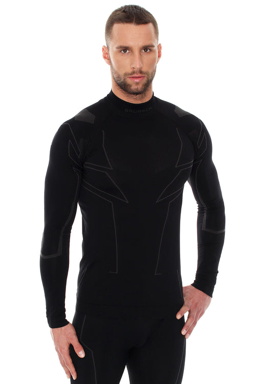Men's Top COOLER Long Sleeve Black