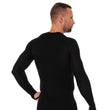 Load image into Gallery viewer, Men's Top 3D Bike PRO Long Sleeve Black Back