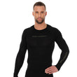 Load image into Gallery viewer, Men's Top 3D Bike PRO Long Sleeve Black Front