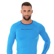 Load image into Gallery viewer, Men's Top 3D Bike PRO Long Sleeve Light Blue Front