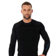Load image into Gallery viewer, Men's Top THERMO Long Sleeve Black Front