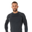 Load image into Gallery viewer, Men's Top THERMO Long Sleeve Graphite Front