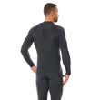 Load image into Gallery viewer, Men's Top THERMO Long Sleeve Graphite Back