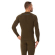 Load image into Gallery viewer, Men's Top THERMO Long Sleeve Khaki Back