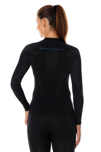 Women's Top THERMO Long Sleeve Black Back