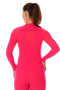 Women's Top THERMO Long Sleeve Raspberry Back